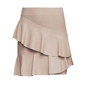 Bridgett Asymmetric Ruffle Skirt